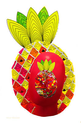 Photograph - Pineapple Head by Susan Vineyard