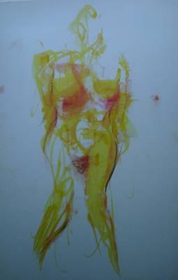Pineapple In Process Art Print by Dean Corbin