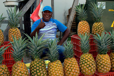 Photograph - Pineapple Man by Douglas Pike