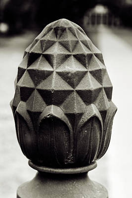 Photograph - Pineapple, Oak Alley, Vacherie, Louisiana by Chris Coffee