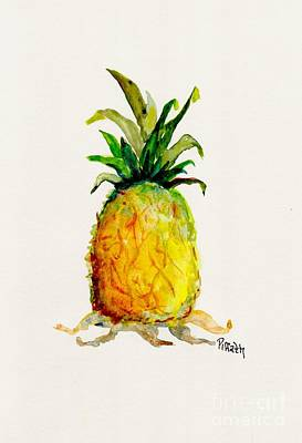 Painting - Pineapple Painting by Patricia Piffath