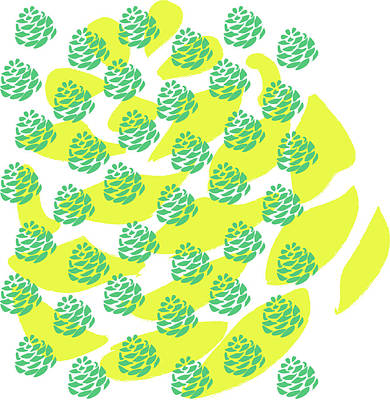pineapple PRINT Original by Joanne Bay christensen