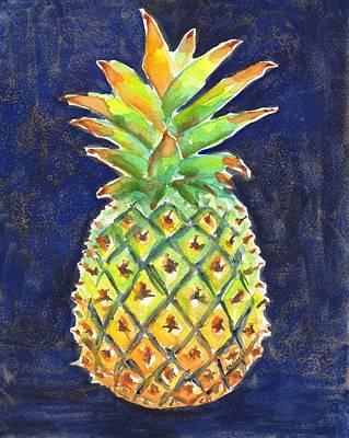 Painting - Pineapple Ripe by Carlin Blahnik