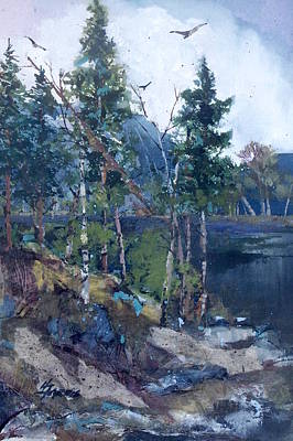 Painting - Pinelake  by Helen Harris