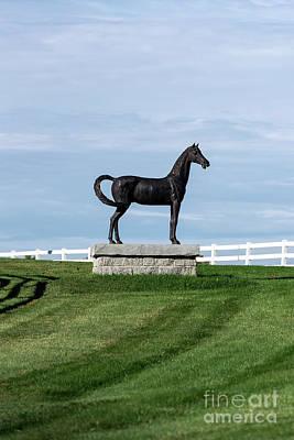 Pineland Farms Photograph - Pineland Farms Equestrian Center by John Greim