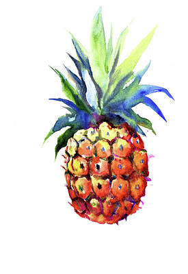 Painting - Pinepple by Suren Nersisyan