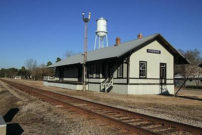 Photograph - Pinewood South Carolina Depot by Joseph C Hinson Photography