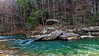 Photograph - Piney River Tennessee by Paul Mashburn