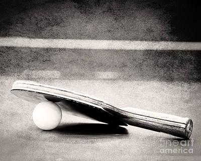 Ping Pong Art Print by Emily Kay