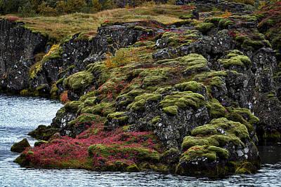 Photograph - Pingvellir Iceland #2 by Stuart Litoff