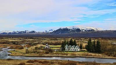 Photograph - Pingvellir National Park # 1 by Allen Beatty