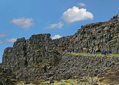 Photograph - Pingvellir National Park # 2 by Allen Beatty