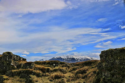 Photograph - Pingvellir National Park # 3 by Allen Beatty