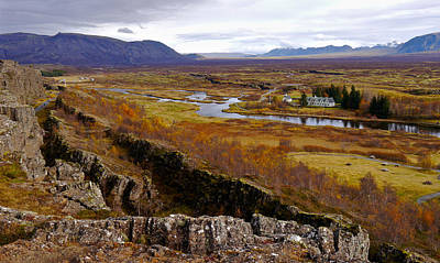 Photograph - Pingvellir National Park Iceland by Amelia Racca