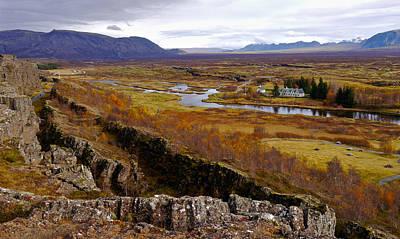 Photograph - Pingvellir National Park Iceland by Amelia Racca