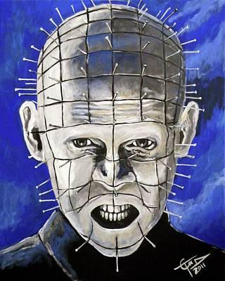 Pinhead - Hellraiser Art Print by Tom Carlton