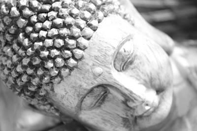 Self-realization Photograph - Pinhole Meditative Smile by Carolina Liechtenstein
