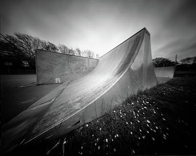 Photograph - Pinhole Ramp by Will Gudgeon