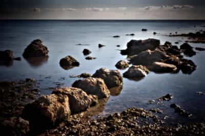 Photograph - Pinhole Seascape 3130 by Rudy Umans