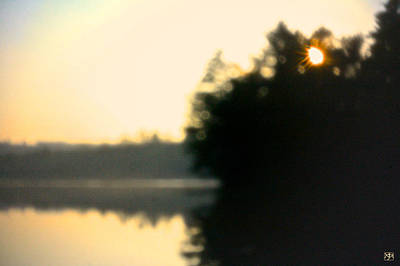 Photograph - Pinhole Sunset by John Meader