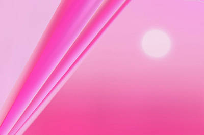Backdrop Digital Art -  Pink Abstract by Art Spectrum