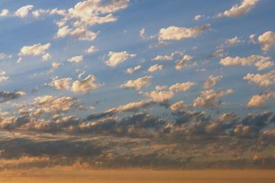 Photograph - Pink And Blue Cloudscape by Patricia Strand