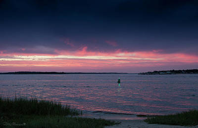 Photograph - Pink And Purple Afterglow by Phil Mancuso