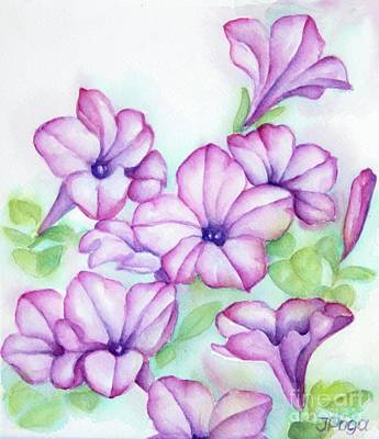 Painting - Pink And Purple by Inese Poga
