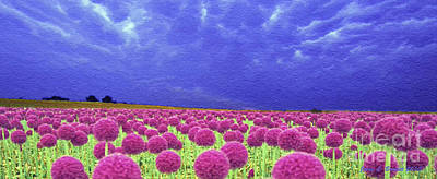Mixed Media - Pink And Purple by Jerry L Barrett
