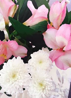 Photograph - Pink And White by Jenny Revitz Soper