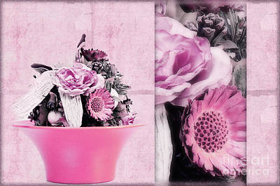 Decorativ Photograph - Pink by Angela Doelling AD DESIGN Photo and PhotoArt
