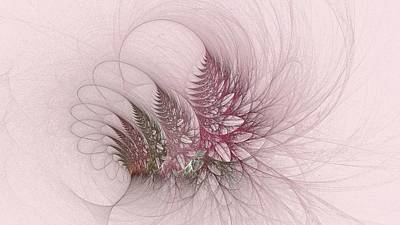 Digital Art - Pink Arctic Bouquet by Doug Morgan