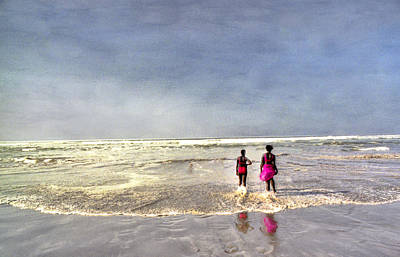 Photograph - Pink At The Beach In Senegal by Wayne King