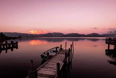 Photograph - Pink Atmosphere by Matteo Viviani