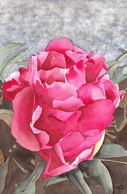 Painting - Pink Azalea Explosion by Ken Powers