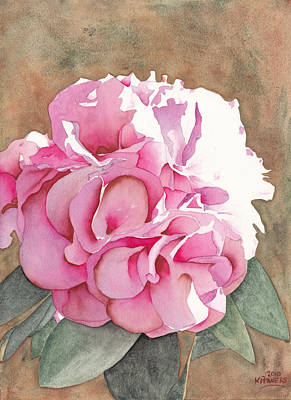 Painting - Pink Azalea by Ken Powers