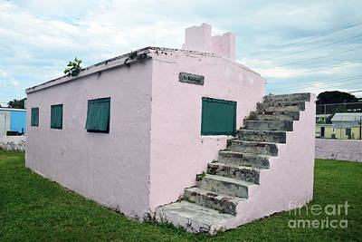 Photograph - Pink Bahamas Jail by Catherine Sherman