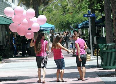 Photograph - Pink Balloons by Jason Pepe