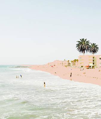 Photograph - Pink Beach by Uma Gokhale