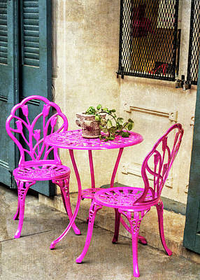 Photograph - Pink Bistro by Patti Deters