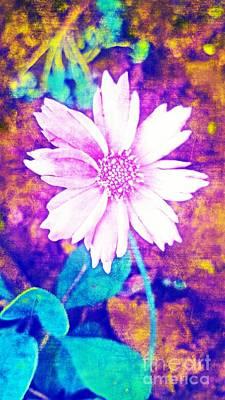 Digital Art - Pink Bloom by Rachel Hannah