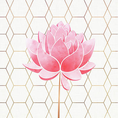 Mixed Media - Pink Blossom by Kristian Gallagher