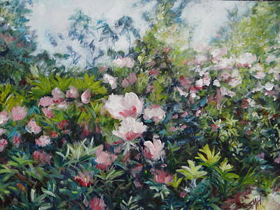 Painting - Pink Blossom Special by Sheila Holland