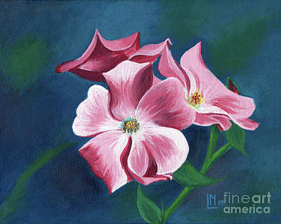 Painting - Pink Blossoms by Lisa Norris