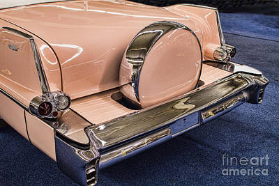 Photograph - Pink Caddy by Steven Parker