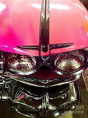 Photograph - Pink Cadillac by Jenny Revitz Soper