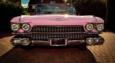Photograph - Pink Cadillac by Mountain Dreams