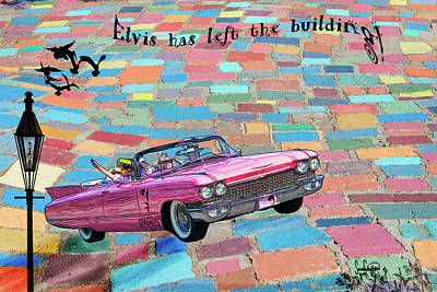 Photograph - Pink Cadillac by Sandra Schiffner