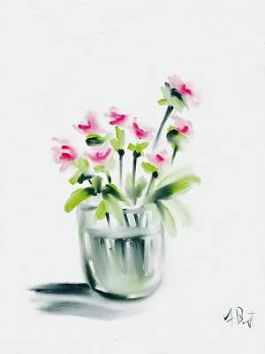 Pink Carnations Original