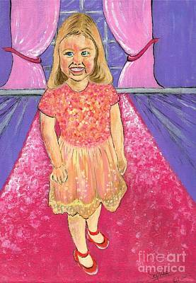 Painting - Pink Carpet by Teresa White